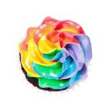 Rainbow Icing Stock Photo