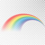Rainbow icon. Colorful light and bright design element for decorative. Abstract rainbow image. Vector illustration isolated on tra vector illustration