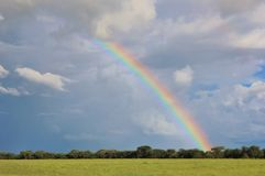 Rainbow of Infinite beauty - Nature in Africa Royalty Free Stock Photo