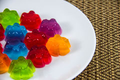 Rainbow Jelly Royalty Free Stock Images