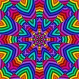 Rainbow Kaleidoscope Royalty Free Stock Photography