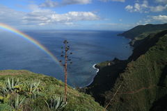 Rainbow La Palma Stock Images