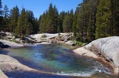 Rainbow lake Stock Images