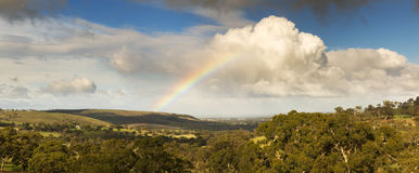 Rainbow Landscape Royalty Free Stock Photography