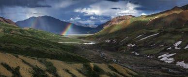 Rainbow, Landscape, Scenic Royalty Free Stock Image