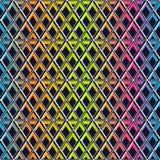 Rainbow lattice seamless pattern. Stock Images