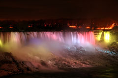 Rainbow Light - Niagara Falls Royalty Free Stock Images