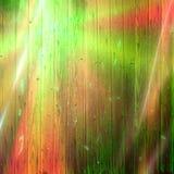 Rainbow light on old batten Stock Photo
