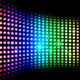 Rainbow Light Squares Background Means Stock Images