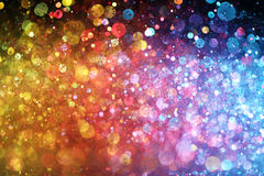 Rainbow of lights Stock Images