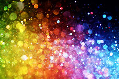 Rainbow of lights Royalty Free Stock Image