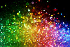 Rainbow of lights Royalty Free Stock Images