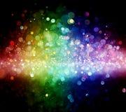 Rainbow of lights Stock Photography