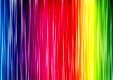 Rainbow lineare Fotografia Stock