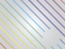 Rainbow lines Stock Photo