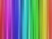 Rainbow lines. Colored lines running in fadeouts top to bottom and bottom to top Royalty Free Stock Photos