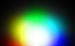 Rainbow lines background Stock Photography