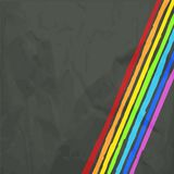 Rainbow Lines Background. Vector illustration for your business work Stock Photos