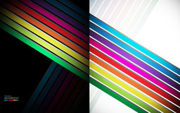 Rainbow Lines Background Royalty Free Stock Image