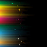Rainbow Lines Background Stock Images