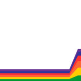Rainbow Lines Background Royalty Free Stock Images