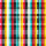 Rainbow lines seamless pattern with grunge effect Royalty Free Stock Photos