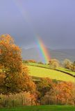 Rainbow lingua gallese fotografia stock libera da diritti