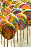 Rainbow Lollipops Royalty Free Stock Image