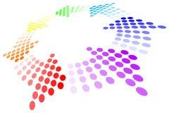 Rainbow Loop. Vector illustration of rainbow loop Stock Photography