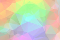 Rainbow low poly background Royalty Free Stock Photos