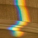 Rainbow luminoso Fotografie Stock Libere da Diritti