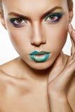 Rainbow makeup Stock Images