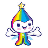 The Rainbow mascot has been welcomed with both hands. Dream of F Stock Photography