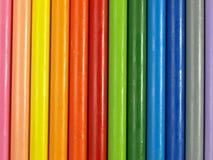 Rainbow modelling clay Stock Photo