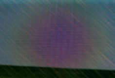 Rainbow Moire Pattern Stock Photography
