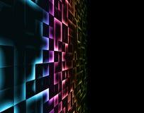 Rainbow mosaic Royalty Free Stock Photography