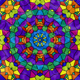 Rainbow Mosaic Kaleidoscope Royalty Free Stock Image