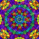 Rainbow Mosaic Kaleidoscope vector illustration