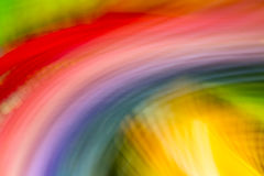 Rainbow in motion Stock Photos