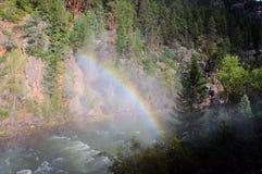 Rainbow Mountains Royalty Free Stock Photos