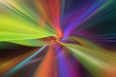 Rainbow multicilored abstract. Concept The Threads of Destiny Royalty Free Illustration