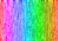 Rainbow multicolor abstract pixel wallpaper royalty free stock photo