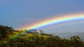 Rainbow near Tamarindo in Costa Rica. Rainbow near Tamarindo  in Costa Rica Stock Photos