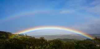 Rainbow near Tamarindo in Costa Rica. Rainbow near Tamarindo  in Costa Rica Royalty Free Stock Image