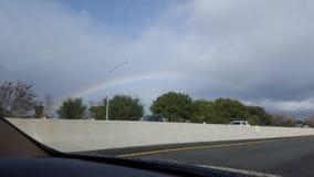 Rainbow nelle nubi Fotografia Stock Libera da Diritti
