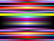 Rainbow neon stripped illustrated background Stock Photography