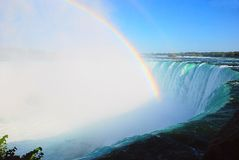 Rainbow on Niagara falls Royalty Free Stock Image