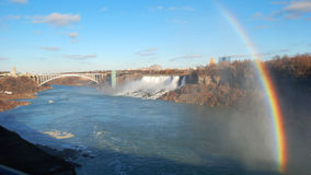 Rainbow from Niagara Falls Royalty Free Stock Photo