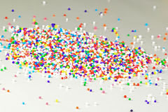 Rainbow Nonpareils Stock Photography