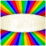 Rainbow old background Royalty Free Stock Images